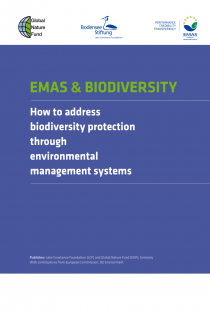EMAS & Biodiversity : How to address biodiversity protection through environmental management systems